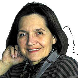 Paula Hernadi portrait of paintress