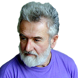 Papp Gábor festőművész portréja