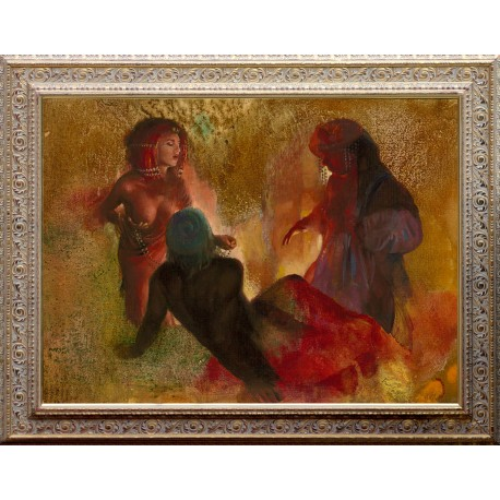 Robert Wegenast: Daughters of Loth - 60x80cm