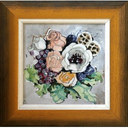 Margit Fehér: Gift Bouquet - 15x15cm