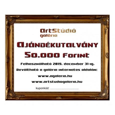 Ajándékutalvány: 50.000 Ft,-