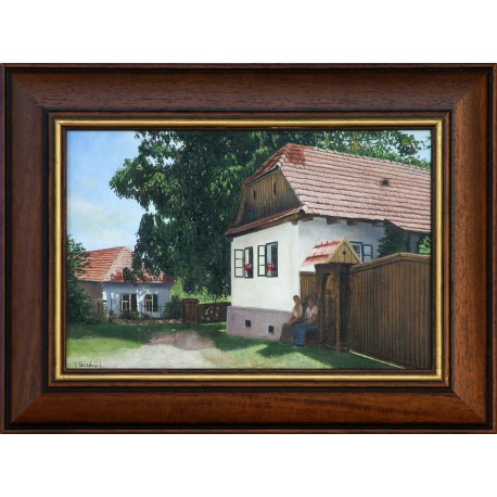 János F. Szabó: Rest - 20x30cm