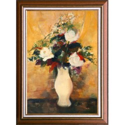 Ervin Balogh: Rose bouquet - 60x40cm