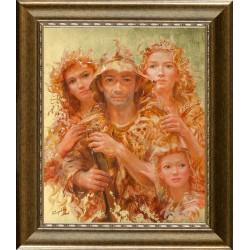 Kárpáti József: Mazzo - 60x50 cm