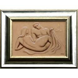 Attila Boros:  A gentle moment - 20x30 cm