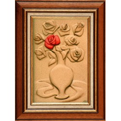 Attila Boros: My Rose - 30x20cm