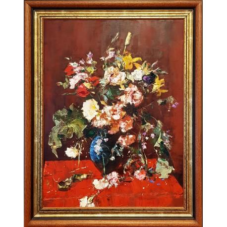 Gábor Papp: Flowers - 80x60cm