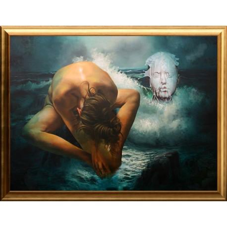 Joseph Burkus: Between the foams - 94x124cm
