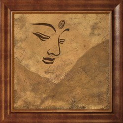TIBRI: A watchful look - 50x50cm