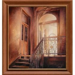 Attila Zoltai: Staircase - 70x60cm