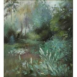 Attila Zoltai:  Garden detail - 22x20cm
