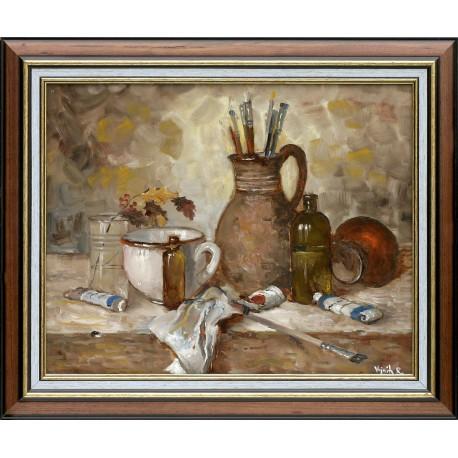 Richárd Vojnits: Studio still life - 40x50cm