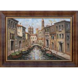 Richárd Vojnits: Venetian detail - 40x60cm