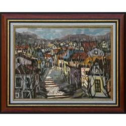 Richárd Vojnits: Little town - 30x40cm