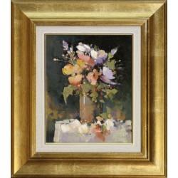 Mág Tamás: Virágok - 30x24 cm