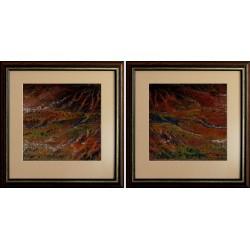 TIBRI: Autumn landscape - 20x40cm