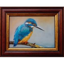 F. Szabó János: The bee-eater - 10x14 cm