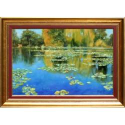 Zoltán Hornyik: Water lilies - 40x60cm