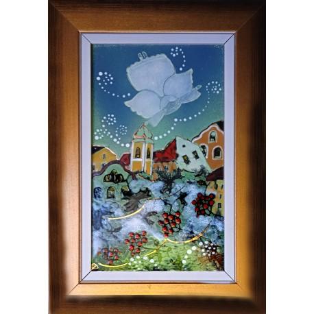 Kornélia Fehér: White Christmas - 25x15cm