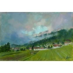 Walter Gábor: Német táj - 40x60 cm