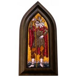 Kovács Erzsébet: Szt. Kristóf - 25x9 cm