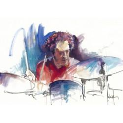 Walter Gábor: A dobos - 70x100cm