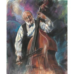 Walter Gábor: Pege - 50x60 cm