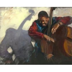 Walter Gábor: Jazz feeling - 40x50 cm
