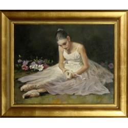Zoltan Hornyik: Between bouquets - 40x50cm
