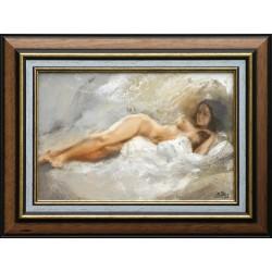 Boros Attila: Pihenő - 20x30 cm
