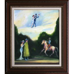 Szilárd Strissowszky: An old story - 60x50 cm
