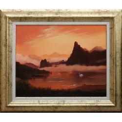 Bihari Levente: Swansong - 40x50cm