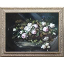 József Fürst: Gift Bouquet - 60x80 cm