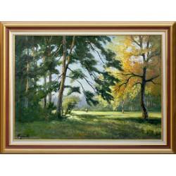 Zoltán Rajczi: Old park - 50x70 cm