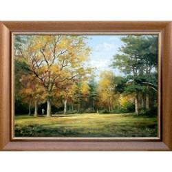 Zoltán Rajczi: Arboretum - 50x70cm