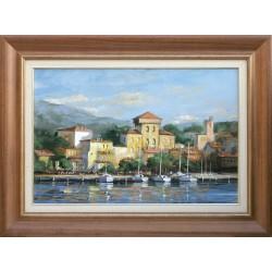 Zoltán Rajczi: Adriatic summer - 40x60cm