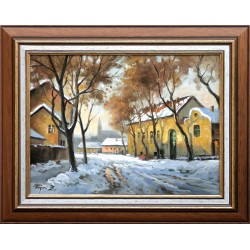 Zoltán Rajczi: January afternoon - 30x40cm