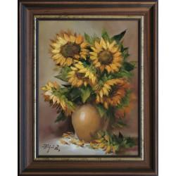 Zoltán Rajczi: Moje kwiaty - 40x30cm