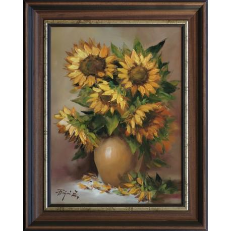 Zoltán Rajczi: My flowers - 40x30cm