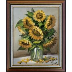 Zoltán Rajczi: Summer bouquet - 50x40cm