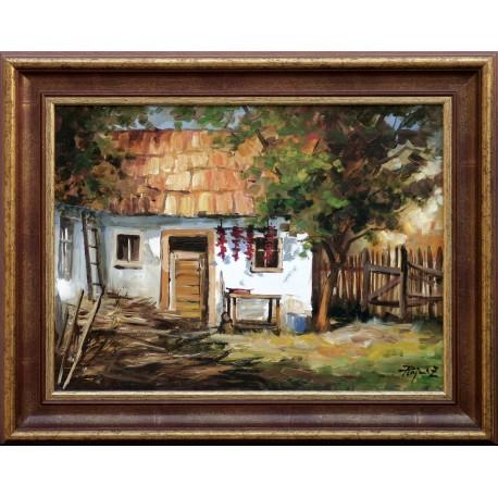 Rajczi Zoltán: Napos oldal - 30x40cm