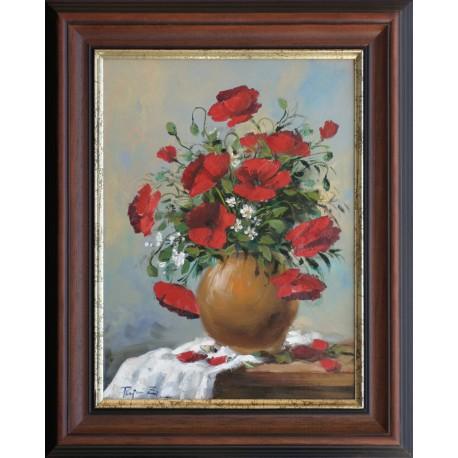 Zoltán Rajczi: Summer bouquet - 40x30cm