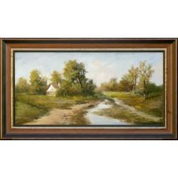 István Reinhardt: Wśród drzew - 30x60cm