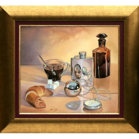 Attila Zoltai: Still life with coffee - 40x50cm