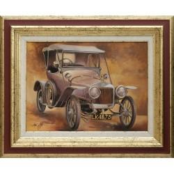 Zoltai Attila: Delage 1911 - 30x40cm