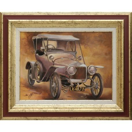 Attila Zoltai: Delage 1911 - 30x40cm