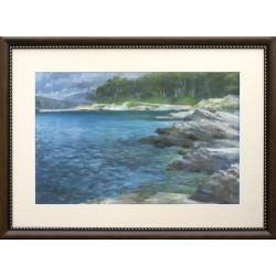 Zsuzsa Harsányi: Finnish Lakeside - 35x50cm