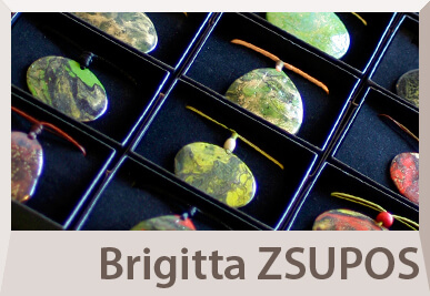 Brigitta Zsupos's unique jewelry