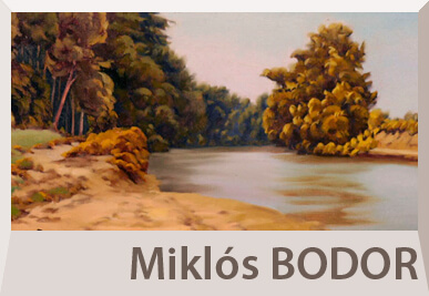 Miklos Bodor landscape paintings