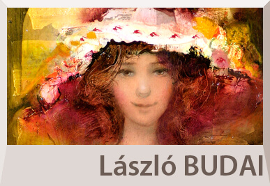 Laszlo Budai portrait paintings